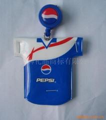 百事可乐PVC钥匙扣