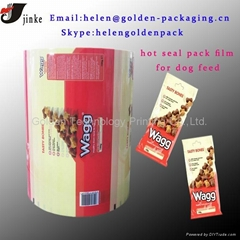 Food auto packing film