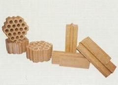 High alumina bricks for hot blast furnaces