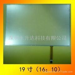 19.0寸系列電阻觸摸屏