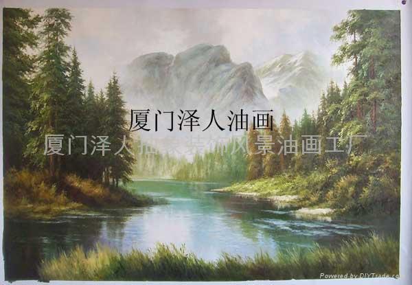 风景油画 (中国 福建