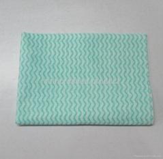 nonwoven wipe cloth