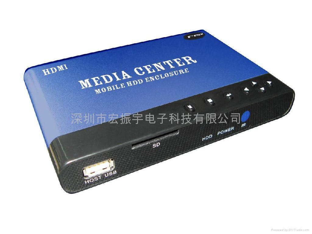 2.5寸RM HDMI硬盘播放器 1