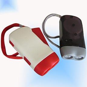 Dynamo pressing led flashlight 2