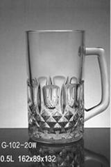 玻璃啤酒杯