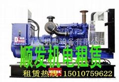 出租150KW柴油发电车