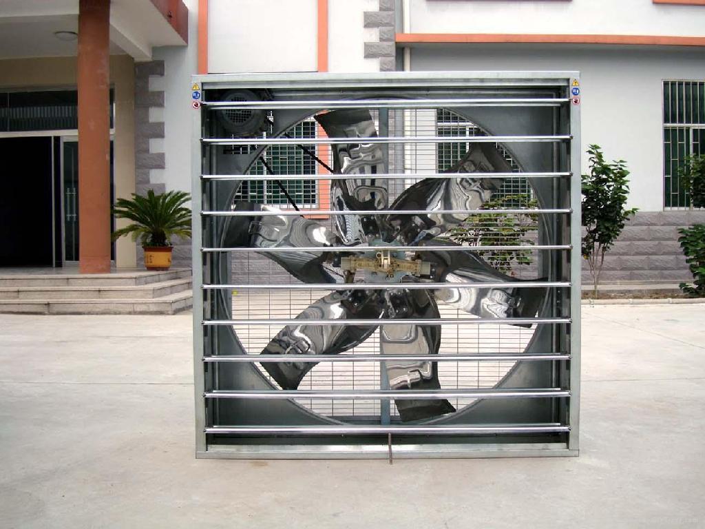centrifugal shutter system exhaust fan 2