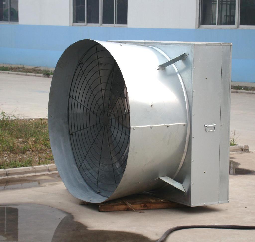 horn-cone fan 2