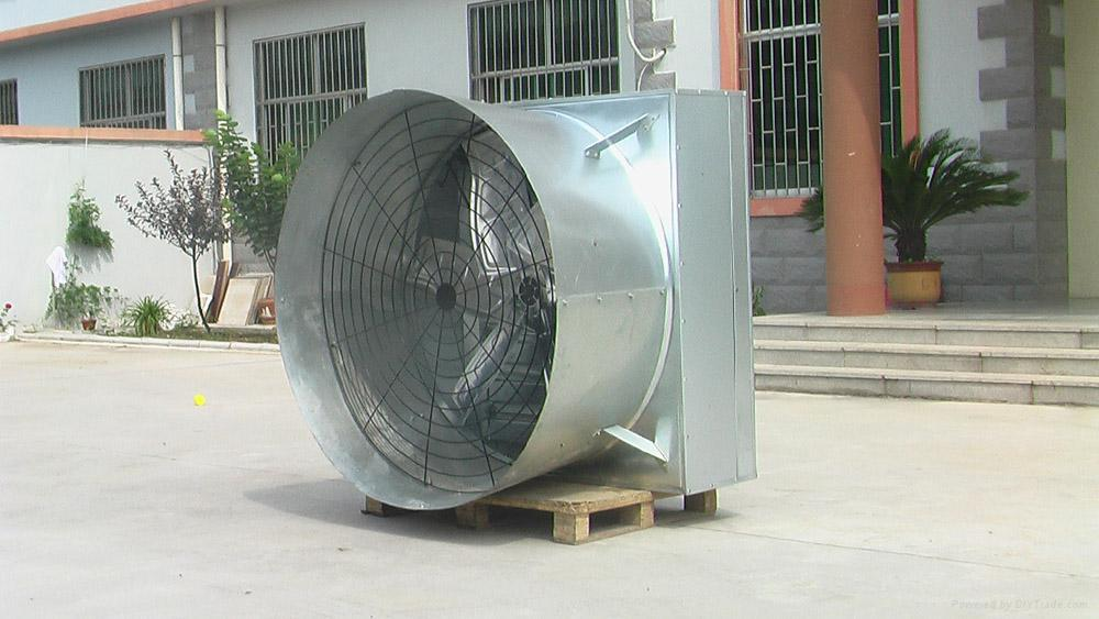 horn-cone fan 3