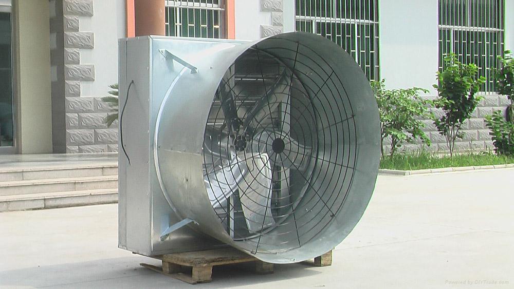 horn-cone fan 5