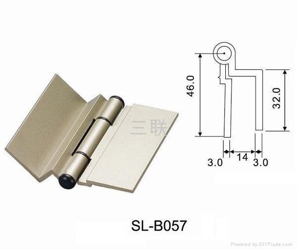 Aluminium window hinges sl b051 60 sanlian china for Window hinges