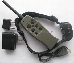 Rechargeable Dog Training VIBRATION + STATIC SHOCK collar / 6 LEVELS/