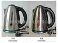 Color ink coating of stainless steel kettle