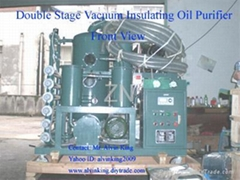 2-Stage Vacuum Insulating Oil Recycling Machine