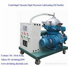 China Centrifugal Vacuum Lubricating Cement Oil Purifier