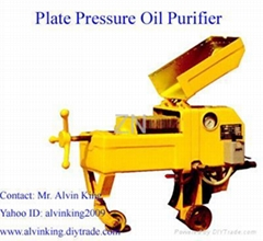 Plate Pressure Waste Oil Reclaiming System