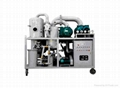 Double Stage Vacuum Electrical Insulating Oil Reconditioning Machine
