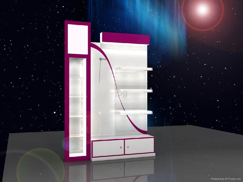 Exhibition Display Cabinet : Cosmetic display cabinet fr funroad china