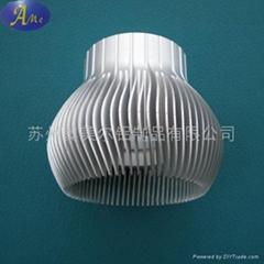 LED灯杯,散热器,太阳花