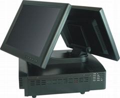 電影院專用售票或賣品零售雙屏觸摸收款機