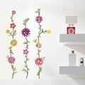 Flower pattern Wall Stickers