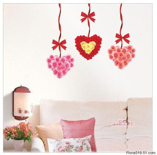 Heart Wall Stickers 2