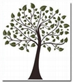 WS-006 Tree Wall Stickers