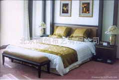 床上用品制作 酒店窗帘
