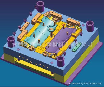 跑步机模具 跑步机配件模具 4
