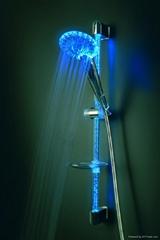LED shower set