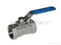 1piece ball valve 不锈钢球阀 1