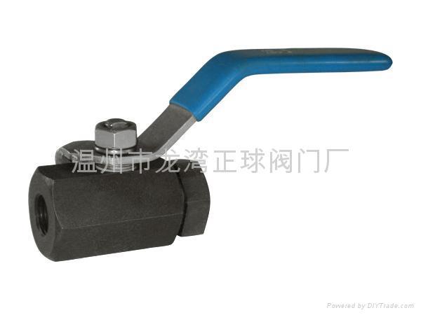 1piece ball valve 不锈钢球阀 2