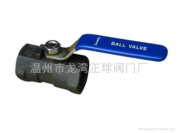 1piece ball valve 不锈钢球阀 3