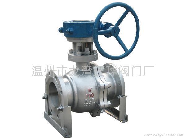 floating flanded ball valves  1
