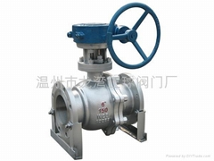 floating flanded ball valves