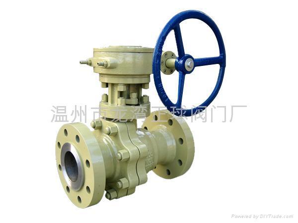 floating flanded ball valves  2