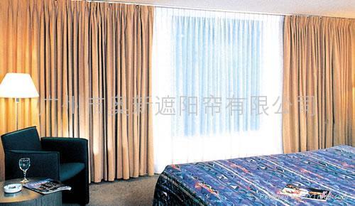 电动窗帘—电动开合帘 1