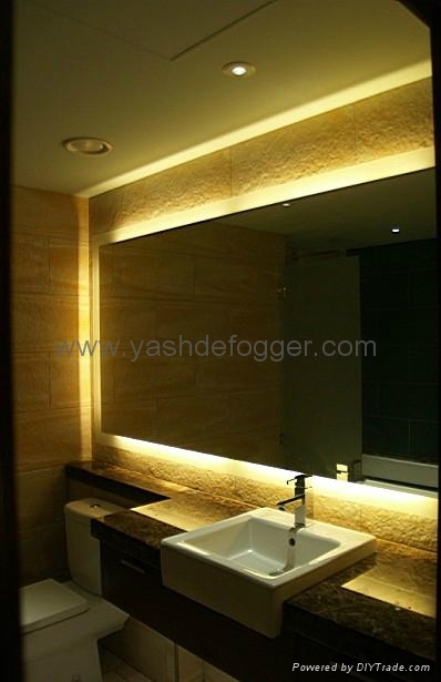 Bathroom illuminated vanity mirror 1