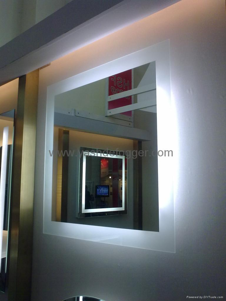 Hotel illuminated mirror bgl 009 bagen china for Mirror hotel