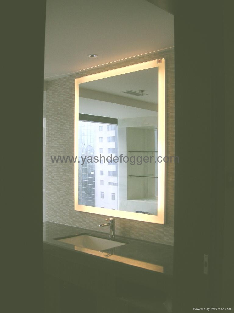 Bathroom Vanity Lights Hotel : Fluorescent Lighted Mirror in December 2017 - Furniture Catalogs: Bathroom Vanities, Chandeliers ...