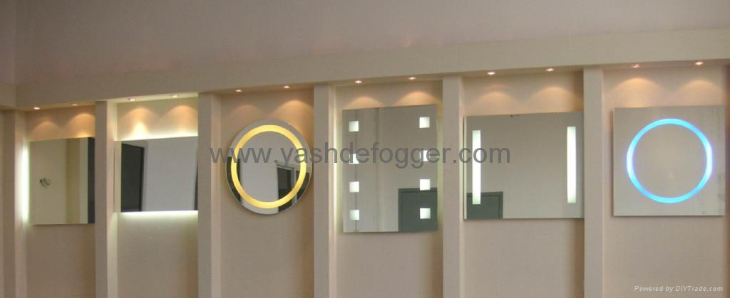 Backlit Bathroom Mirror Contemporary With Backlit Mirror Bathroom Bathroom