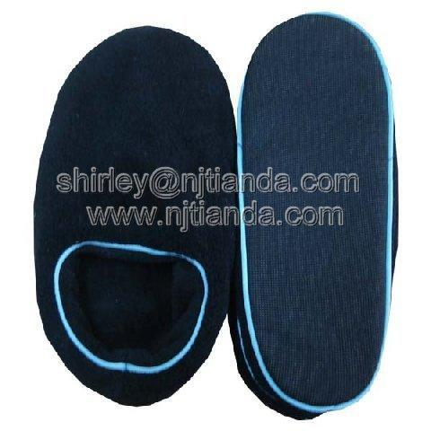 100% coral fleece slipper