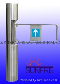 Automatic Wing barrier/Flap barrier/Speed Gate/flat barrier 5