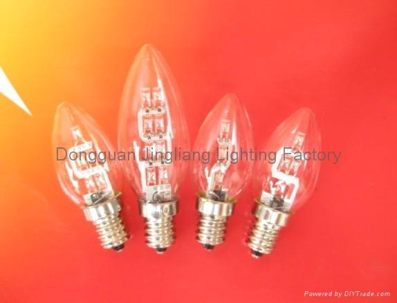 E14 24V LED bulb light votive lamp for cemetary 2