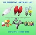 E14 24V LED bulb light votive lamp for cemetary 4