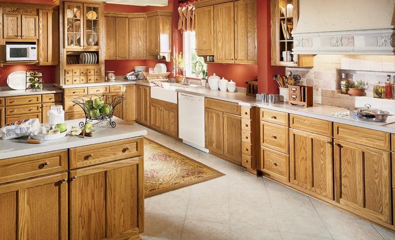 Oak Kitchen Cabinet China Manufacturer Products