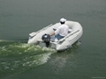 supply RIB boat  FG270 with outboard motor F2.5MS 3