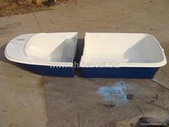 2 block dinghy boat