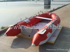3m fiberglass floor roll up inflatable boat