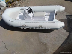 "Hypalon 12'6"" RIB inflatable  boat"